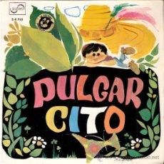 Discos de vinilo: PULGARCITO. TEATRO INVISIBLE DE RNE, DE BARCELONA. DIRECCIÓN: LUIS FERRER. ZAFIRO. 1967.. Lote 32030980