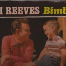 Discos de vinilo: LP-JIM REEVES-BIMBO-REED.1970-UK-COUNTRY-. Lote 32012697
