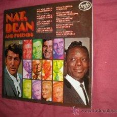 Discos de vinilo: NAT, DEAN AND FRIENDS LP MFP 5198 NAT KING COLE & DEAN MARTIN LENE RENAUD.JERRY LEWIS.PEGGY LEE. Lote 32016977