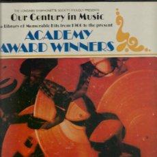 Discos de vinilo: 3926-ACADEMY AWARD WINNERS-3 LP CON LAS CANCIONES GANADORAS DEL OSCAR DE HOLLYWOOD. Lote 32017296