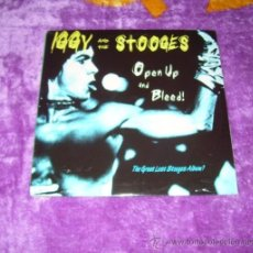 Discos de vinilo: IGGY POP AND THE STOOGES OPEN UP AND BLEED. Lote 32021720