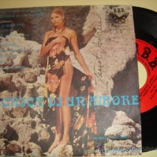 Disques de vinyle: ALBERT VERRECCHIA-TEC?NICA DI UN AMORE-ITALIAN 45RPM 1973-SOUNDTRAC?K-SEXY COVER. Lote 32021962