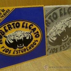 Discos de vinilo: ROBERTO EL GATO Y LOS ESTUPENDOS MLP 1993 VINILO ROCK ESTUPENDO ROCK AND ROLL RNR. Lote 32029248