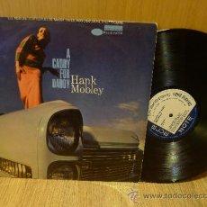 Discos de vinilo: HANK MOBLEY A CADDY FOR DADDY LP BLUE NOTE ORIGINAL 1968 HBN 451 09. Lote 139459546