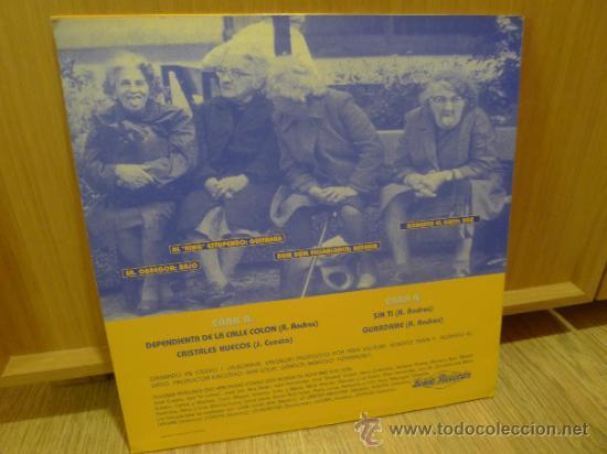 Discos de vinilo: Roberto el gato y los estupendos Mlp 1993 Vinilo Rock estupendo Rock and roll RnR - Foto 4 - 32029248