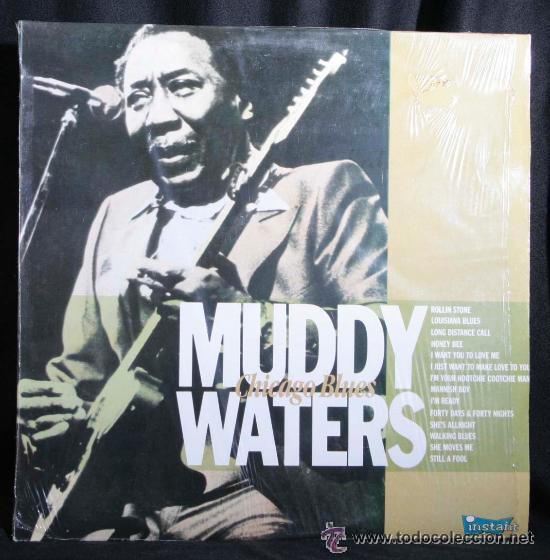 MUDDY WATERS - CHICAGO BLUES - (ESPAÑA-ZAFIRO-1989) BLUES LP (Música - Discos - LP Vinilo - Jazz, Jazz-Rock, Blues y R&B)