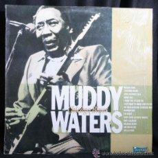 Discos de vinilo: MUDDY WATERS - CHICAGO BLUES - (ESPAÑA-ZAFIRO-1989) BLUES LP. Lote 32035473