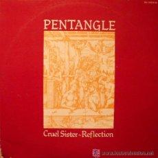 Discos de vinilo: PENTANGLE - CRUEL SISTER / REFLECTION - DOBLE ALBUM GUIMBARDA - LIBRETO INCLUIDO. Lote 32035610