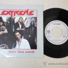 Discos de vinilo: SINGLE: EXTREME - MORE THAN WORDS, ED. POR AM RECORDS 1991. Lote 32041456