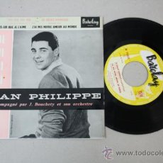 Discos de vinilo: SINGLE DE JEAN PHILIPPE - OUI, OUI, OUI, OUI, ED. POR BARCLAY 1959. Lote 32041476