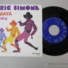Discos de vinilo: SINGLE DE AFRIC SIMONE, EDITADO POR BELTER 1975 . Lote 32041498