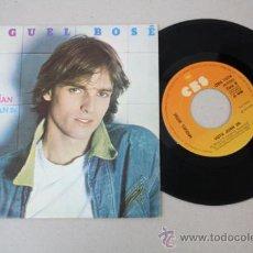 Discos de vinilo: SINGLE DE MIGUEL BOSÉ - SUPER SUPERMAN, ED. POR CBS 1979 . Lote 32042126