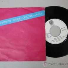 Discos de vinilo: SINGLE: DIRE STRAITS - TUNNEL OF LOVE, EDITADO POR VERTIGO 1980 . Lote 32044540