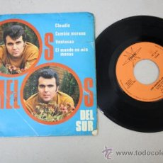 Discos de vinilo: SINGLE DE LOS GEMELOS DEL SUR, EDITADO POR MARTER 1968 . Lote 32052232
