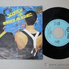 Discos de vinilo: SINGLE DE SCOTCH - MIRAGE/ AMOR POR VICTORIA, EDITADO POR ZYX REC 1986. Lote 32054210