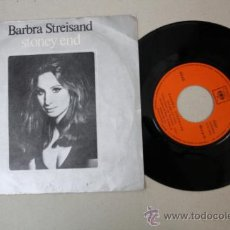 Discos de vinilo: SINGLE DE BARBARA STREISAND - STONEY END, EDITADO POR CBS 1970 . Lote 32054566