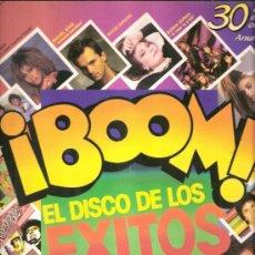 Discos de vinilo: ¡BOOM! EL DISCO DE LOS ÉXITOS. 30 EXITOS EN VERSIÓN ORIGINAL.CONTIENE 2 DISCOS(LPS).EMI 1985.. Lote 32054728