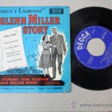 Discos de vinilo: MUSICA Y LAGRIMAS - THE GLENN MILLER STORY, EDITADO POR DECCA 1966. Lote 32056816
