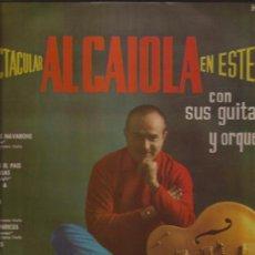 Discos de vinilo: LP-AL CAIOLA-EL ESPECTACULAR...-HISPAVOX 06108-1962-. Lote 32058633