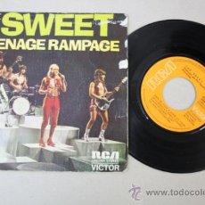 Discos de vinilo: SINGLE: THE SWEET TEENAGE RAMPAGE, EDITADO POR RCA VICTOR 1974. Lote 32060254