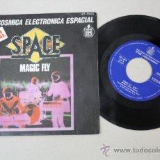 Discos de vinilo: SINGLE: SERIE COSMICA ELECTRONICA ESPACIAL - SPACE/ VERSION ORIGINAL, ED. HISPAVOX 1977. Lote 32060355