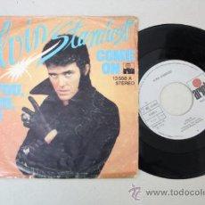 Discos de vinilo: SINGLE DE ALVIN STARDUST - COME ON/ YOY, YOU, YOU, EDITADO POR ARIOLA 1974. Lote 32060384