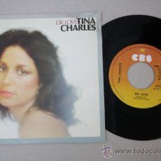 Discos de vinilo: SINGLE DE TINA CHARLES - DR. LOVE, EDITADO POR CBS RECORDS 1977. Lote 32060437