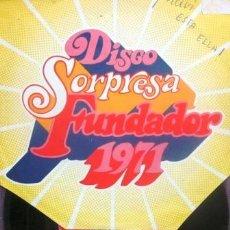 Discos de vinilo: ELLA FITZGERALD - DISCO SORPRESA FUNDADOR - 1971. Lote 32061283