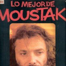 Discos de vinilo: LO MEJOR DE MOUSTAKI. POLYDOR. 1975.. Lote 32072673