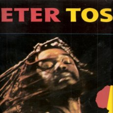 Discos de vinilo: PETER TOSH. CAPTURED LIVE.PRODUCIDO POR MICHAEL C. COLLINS. EMI - ODEON. 1984. Lote 32072963