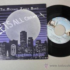 Discos de vinilo: SINGLE: THE MICHAEL ZAGER BAND - LET'S ALL CHANT, ED. PRIVATE STOCK 1978 . Lote 32162999