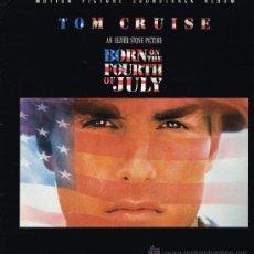 Discos de vinilo: BORN ON THE FOURTH OF JULY - ORIGINAL MOTION PICTURE SOUNDTRACK - LP 1989 - . Lote 71020879