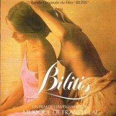 Discos de vinilo: BILITIS - BANDE ORIGINALE DU FILM- LP 1987 - PORTADA DOBLE - . Lote 32066377