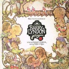 Discos de vinilo: BARRY LYNDON - MOTION PICTURE SOUNDTRACK - LP 1975 - . Lote 32066575