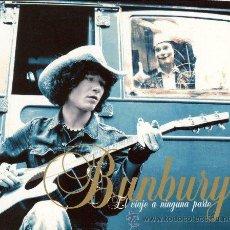 Discos de vinilo: 2LP BUNBURY EL VIAJE A NINGUNA PARTE HEROES SILENCIO. Lote 57047103