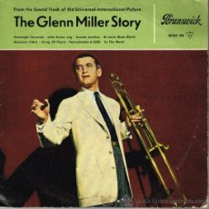 Discos de vinilo: THE GLENN MILLER STORY - FROM THE SOUND TRACK OF THE UNIVERSAL PICTURE - MINI LP 8 TEMAS. Lote 32081697