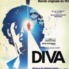 Discos de vinilo: DIVA - BANDE ORIGINALE DU FILM - LP 1981. Lote 32099026