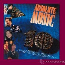 Discos de vinilo: ABSOLUTE MUSIC 10 (ROXETTE,CAROLA,WILSON PHILLIPS, UB40...Y MUCHOS MAS DOBLE LP 1990. Lote 32100103