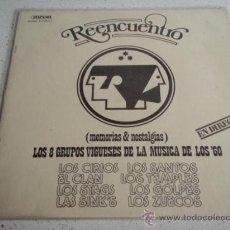 Discos de vinilo: VARIOUS ?– REENCUENTRO - LOS 8 GRUPOS VIGUESES DE LA MUSICA DE LOS '60 SPAIN 1979 DIAPASON. Lote 32100970