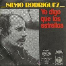 Discos de vinilo - SILVIO RODRIGUEZ SINGLE SELLO MOVIEPLAY AÑO 1977 EDITADO EN ESPAÑA (PROMOCIONAL) - 32102329