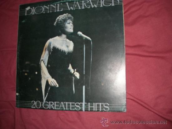 DIONNE WARWICK LP 20 GREATEST HITS 1983 MOVIPLAY SPA VER FOTO (Música - Discos - LP Vinilo - Solistas Españoles de los 50 y 60)