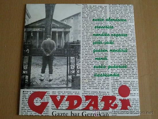 GUDARI GAZTE BAT GERNIKAN EP AGORILA EDITA (Música - Discos de Vinilo - EPs - Otros estilos)