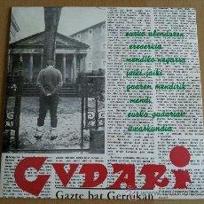 Discos de vinilo: GUDARI GAZTE BAT GERNIKAN EP AGORILA EDITA. Lote 85353652