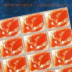 Discos de vinilo: DIRE STRAITS - SINGLE VINILO 7'' - EDITADO EN INGLATERRA - CALLING ELVIS + IRON HAND - 1991. Lote 32110945