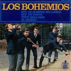 """Discos de vinilo: LOS BOHEMIOS - EP VINILO 7"""" - EDITADO EN ESPAÑA - YO SOY UN HOMBRE DEL CAMPO + 3 - HISPAVOX 1965. Lote 32111161"""