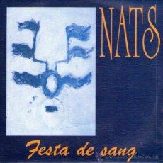 Discos de vinilo: NATS - SINGLE VINILO PROMO 7'' - EDITADO EN ESPAÑA - FESTA DE SANG + 1 - ROCK CATALAN - DRO 1992. Lote 32111222