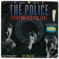 Disques de vinyle: THE POLICE - EVERY BREATH YOU TAKE - EP PROMO ITALIA - A&M 5000 739. Lote 32114496