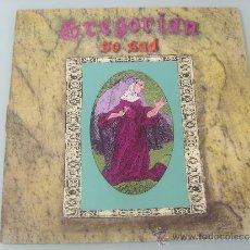 Discos de vinilo: GREGORIAN.- MAXI SINGLE 12¨.-1991.- SO SAD. Lote 32114529