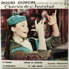 Discos de vinilo: EP DE ROCIO DURCAL......MEXICO. Lote 32114734
