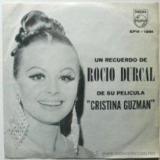 Discos de vinilo: EP DE ROCIO DURCAL......MEXICO. Lote 32114804